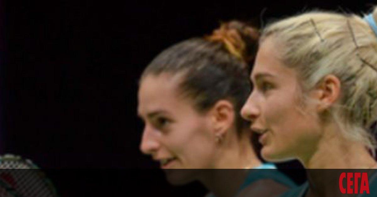 Габриела и Стефани Стоеви станаха за втори пореден път европейски