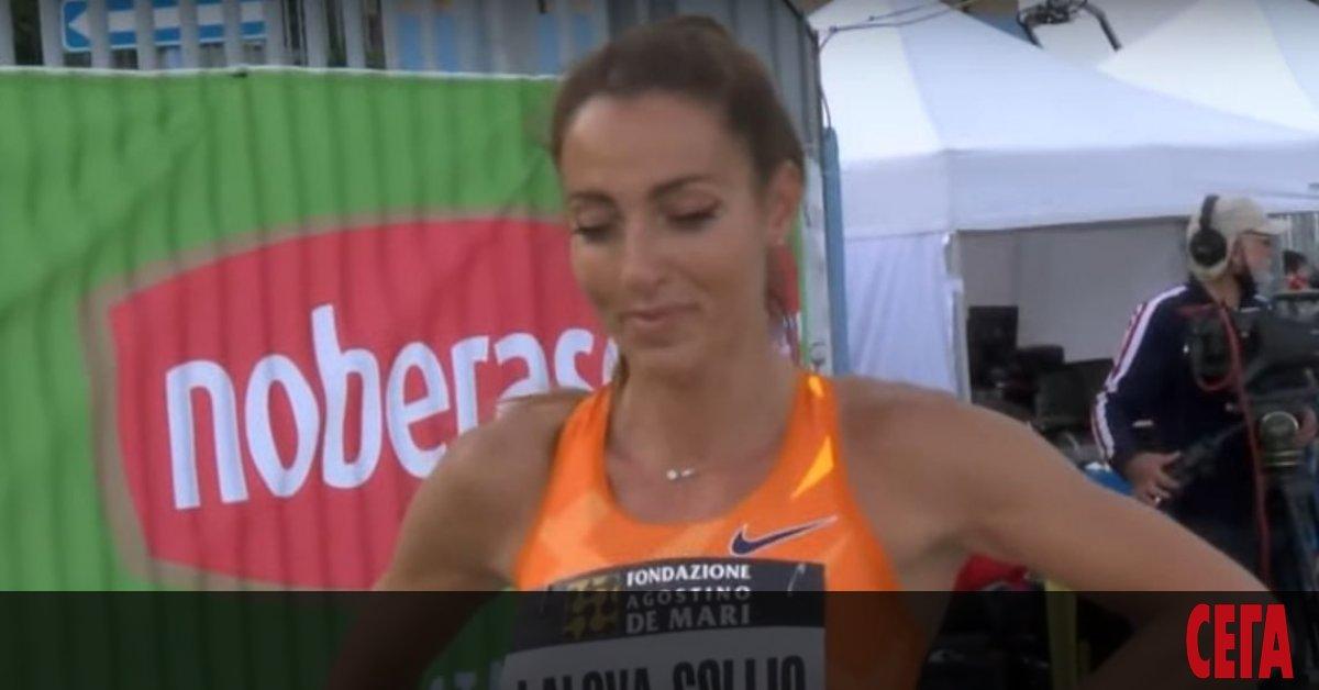 Звездата на българската лека атлетика Ивет Лалова-Колио зае 4-то място