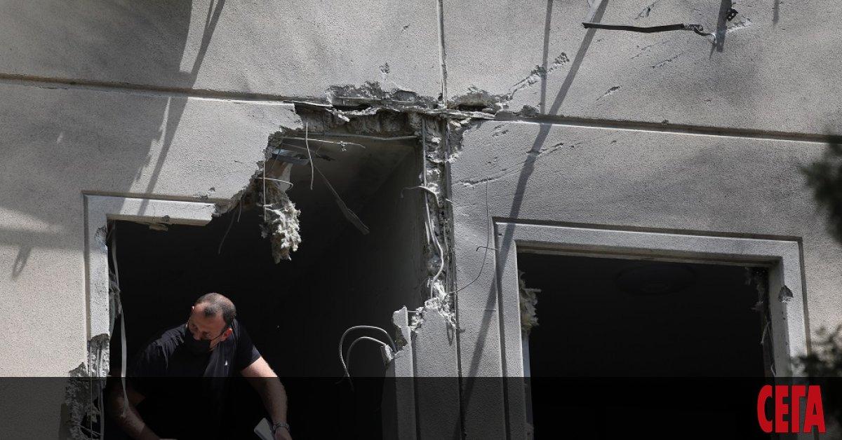 Израел атакува отряд от бойци, изстреляли противотанкова ракета на израелска