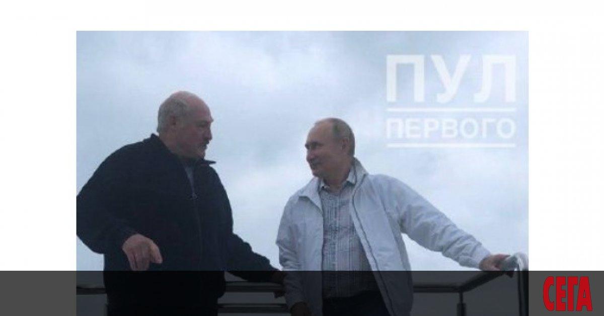 Президенът на Беларус Александър Лукашенко си тръгна от Сочи с