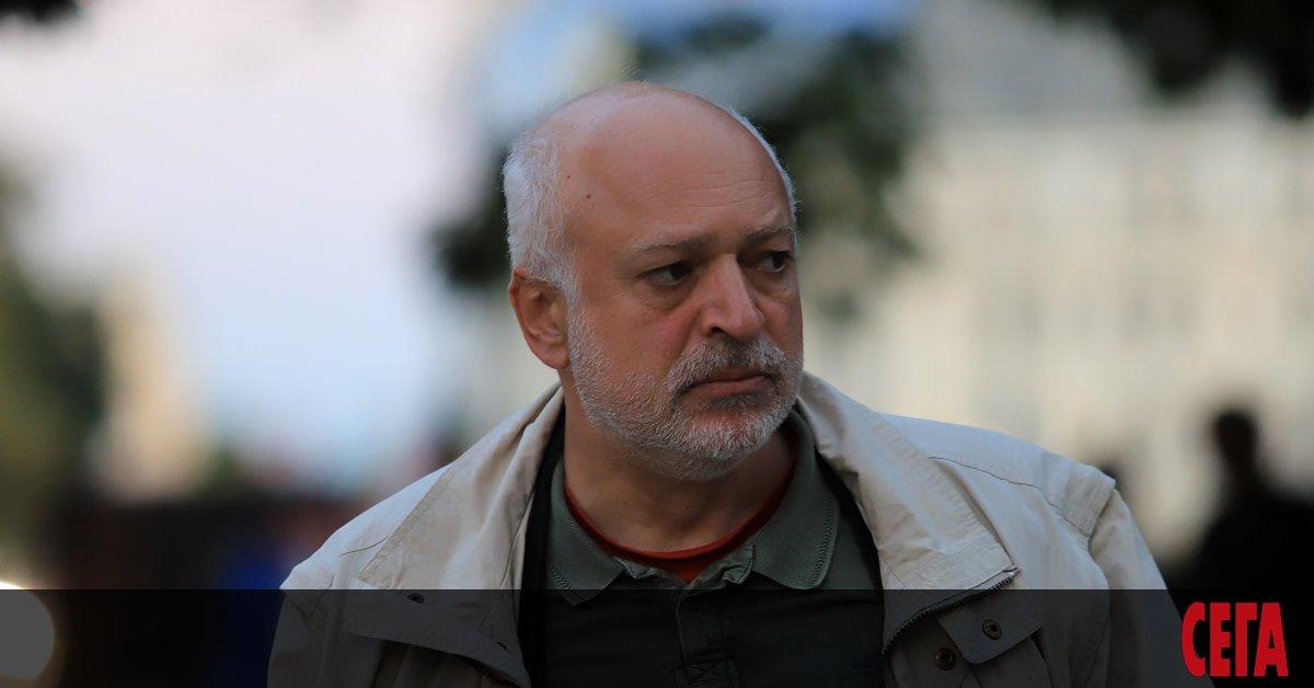 Проф. Велислав Минеков, министър на културата в служебния кабинет, е