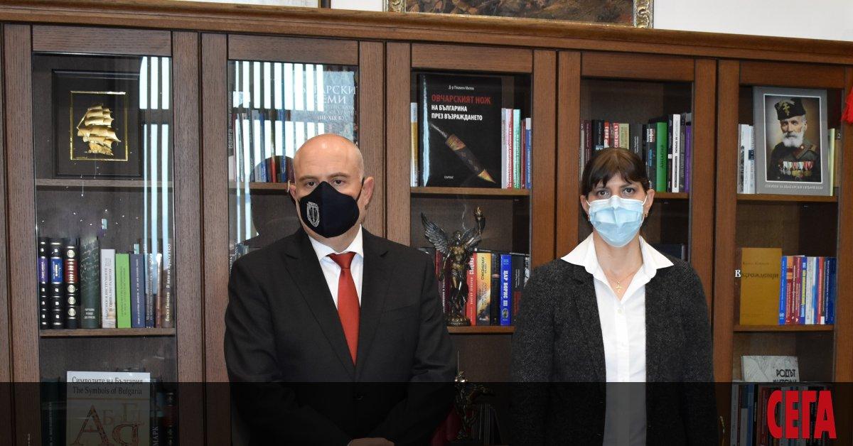 Европейският главен прокурор Лаура Кьовеши се срещна с министъра на