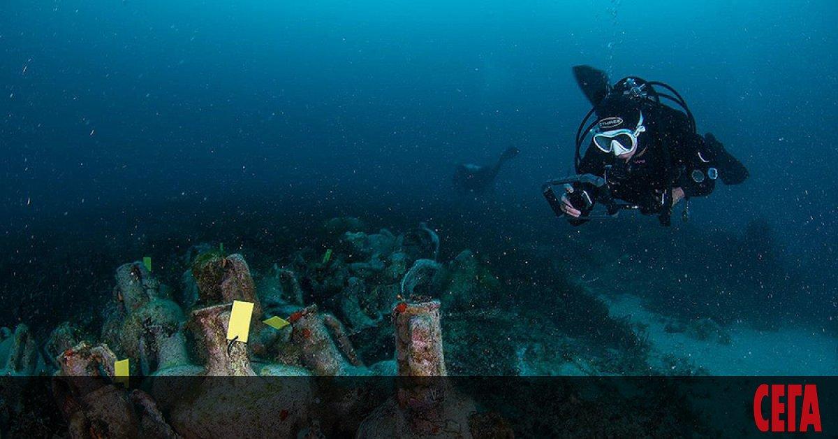 Древни градове, оказали се под вода, амфори от времето на
