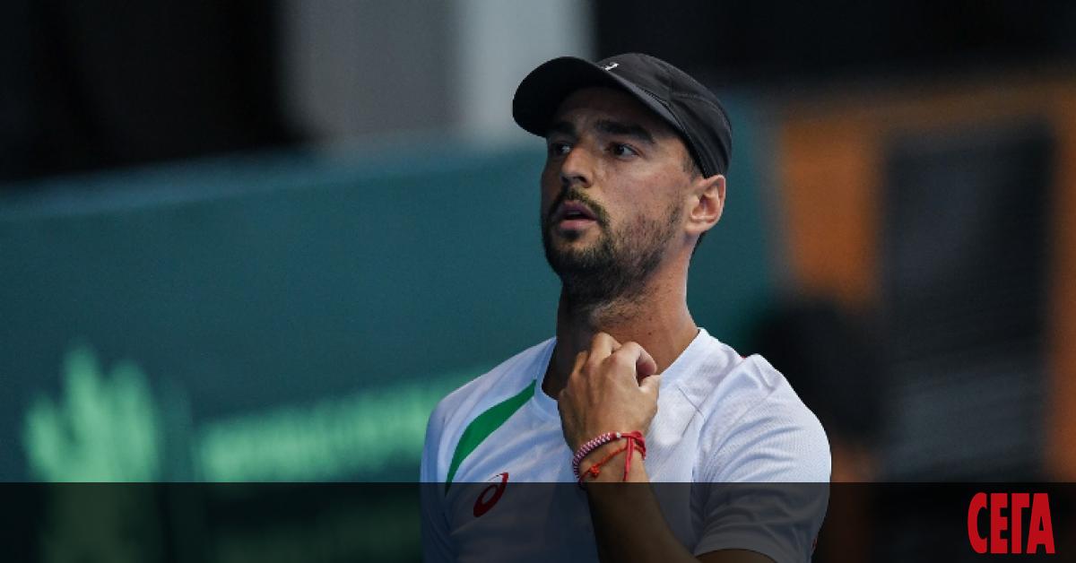 Димитър Кузманов отпадна в I кръг на квалификациите за Откритото