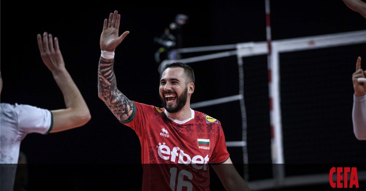 Българският национален отбор по волейбол прекъсна ужасната си серия от