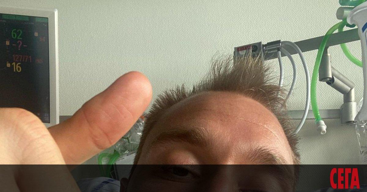 Датският футболен национал Кристиян Ериксен, който беше на косъм от