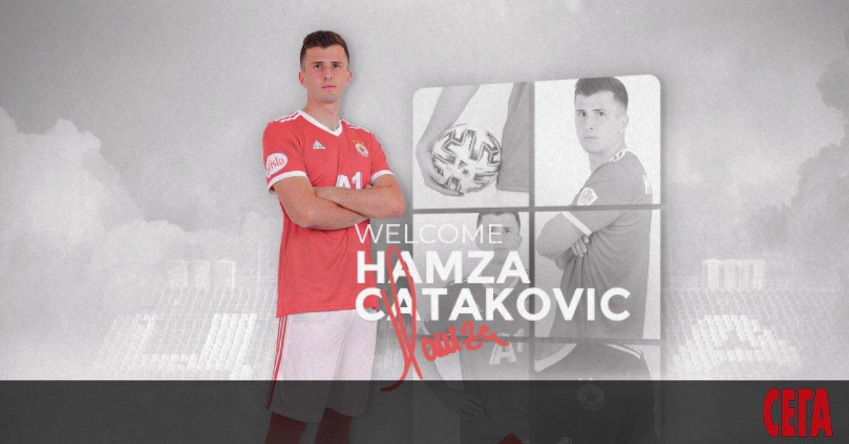 Босненският халфХамза Чатакович (24 г.) стана третото ново попълнение в
