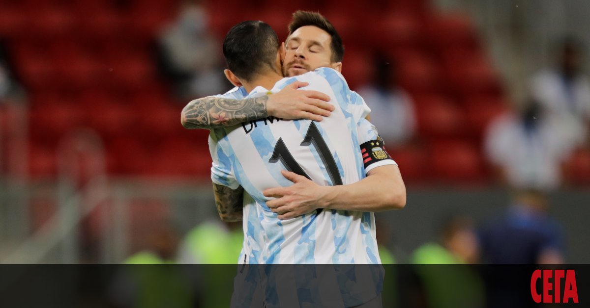 Аржентина излезе еднолично начело в група А на турнира Копа