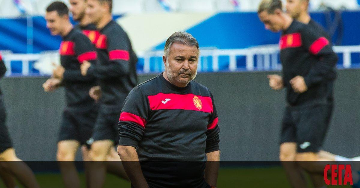 Селекционерът на националния отбор по футбол Ясен Петров ще вземе