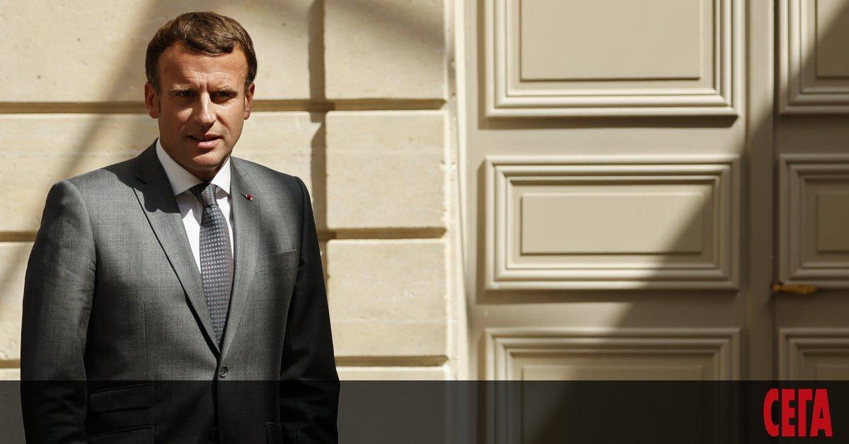 Френският президент Еманюел Макрон е провел разговор с премиера на