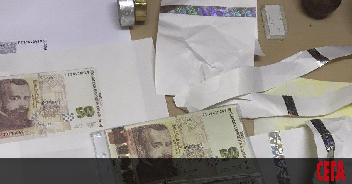 МВРсе похвали, че е разбила печатница за фалшиви български банкноти.От