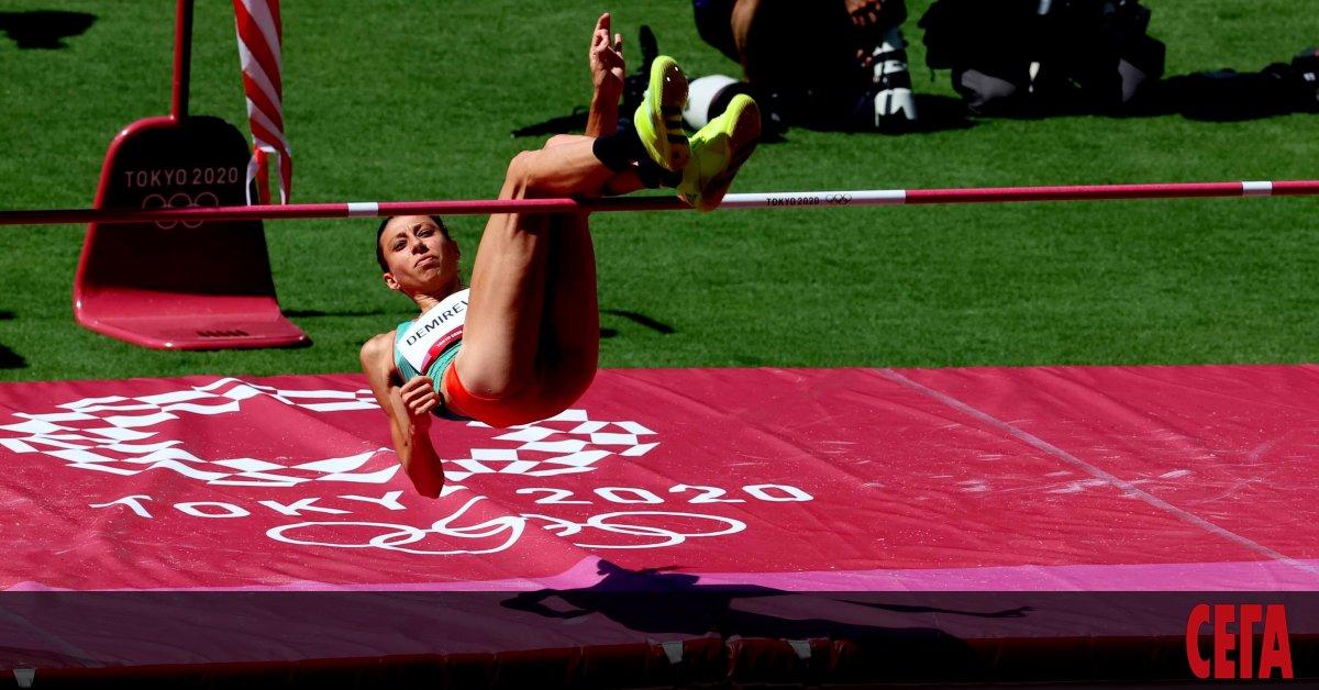 Вицешампионката в скока на височина от Рио де Жанейро `16
