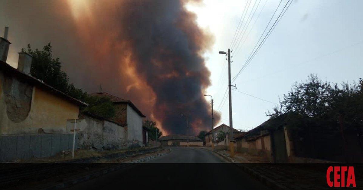 Бушуващите у нас пожари взеха жертви. Двама служители на Югозападното