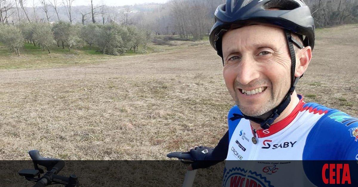 Давиде Ребелин стана най-възрастният колоездач, участвал в професионално състезание -