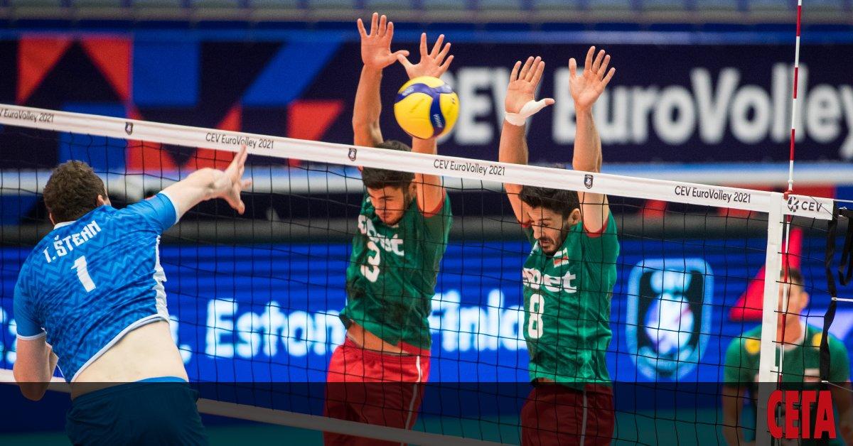 Втора поредна тежка загуба претърпя волейболният национален отбор на България