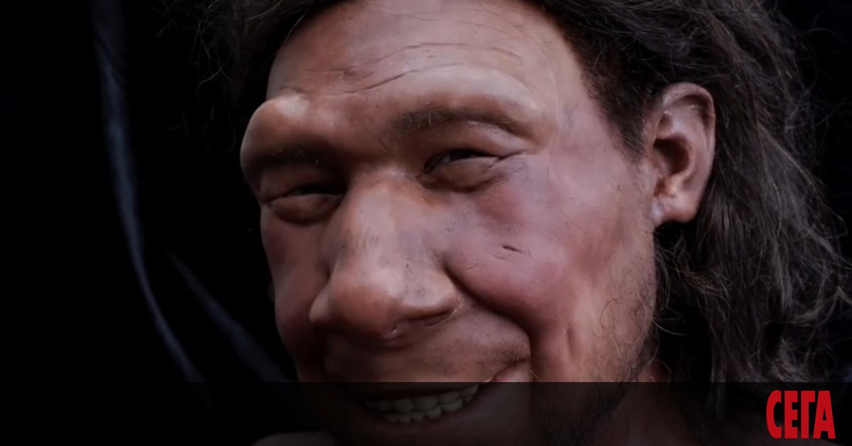 Реканструиранотолицена неандерталец предизвиква интереспо целия свят - не само заради