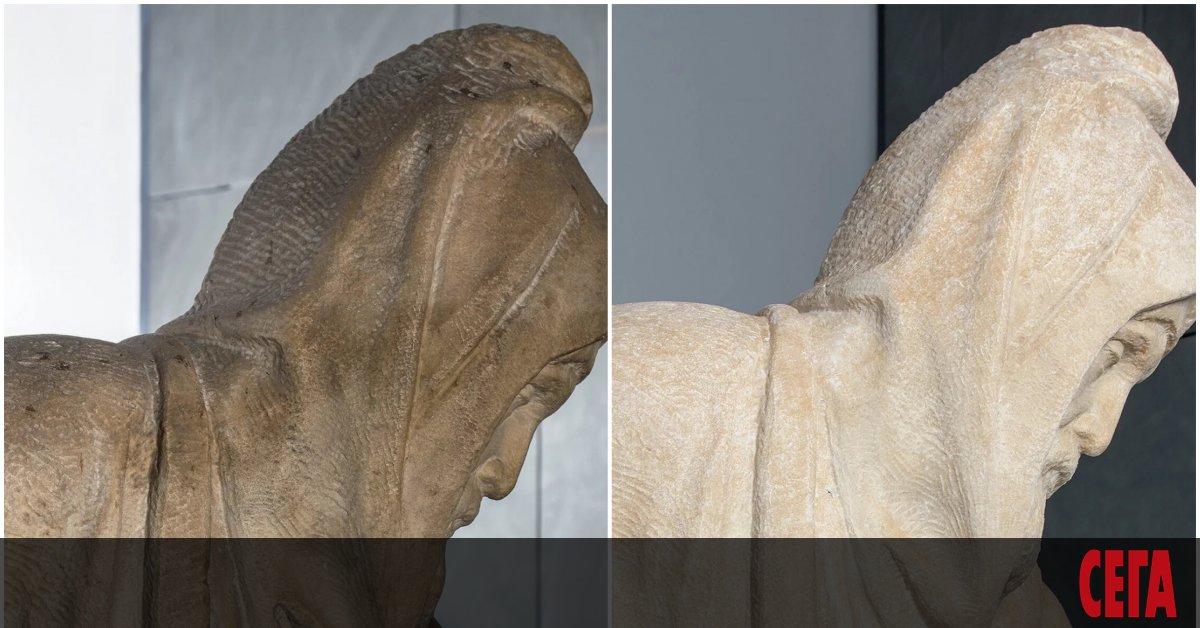 Микеланджело е бил старец, когато е започнал да работи върху