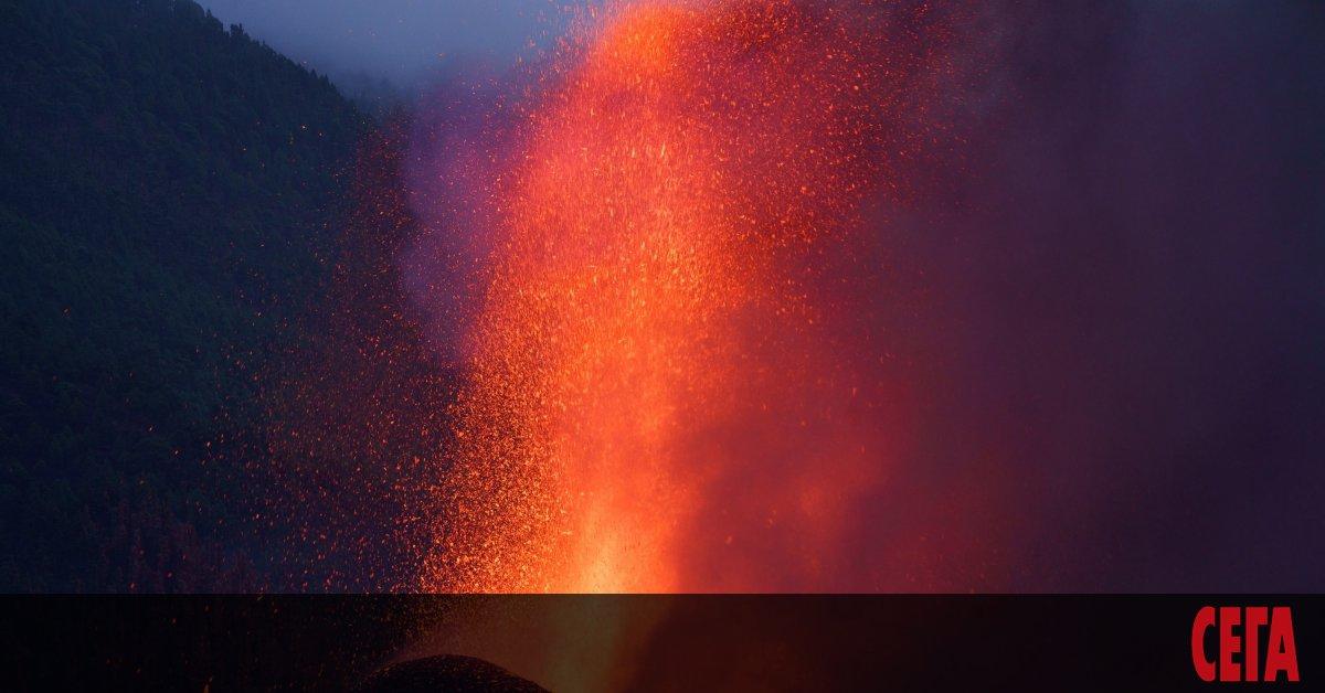 Появи се нова пукнатина на изригващия вулкан на Канарските острови,