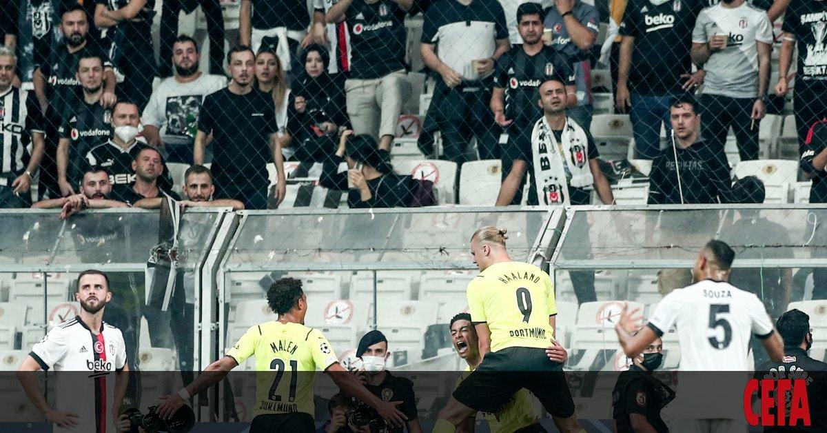 Дебютантът в групите на Шампионската лига Шериф (Тираспол) постигна победа