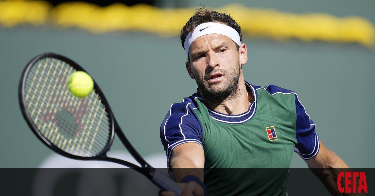 Най-добрият ни тенисист Григор Димитров не можа да се класира