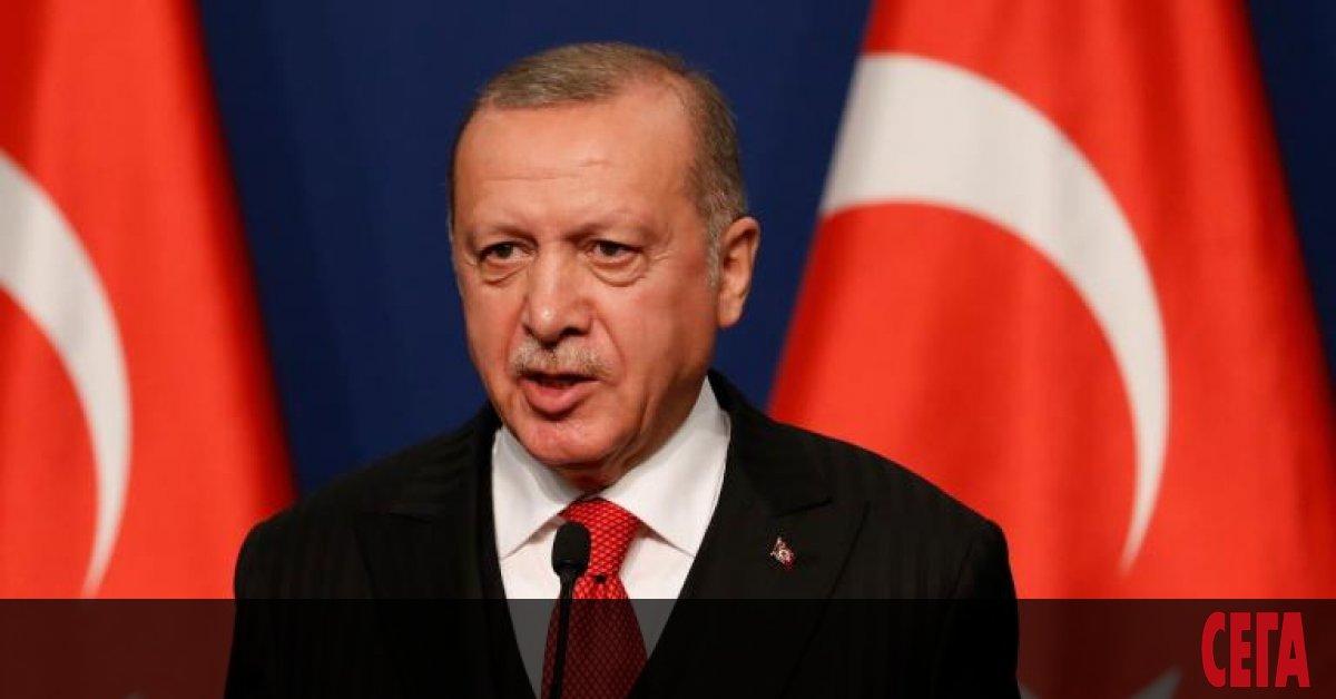 Турският президент Реджеп Ердоган се отказа от обявеното намерение да