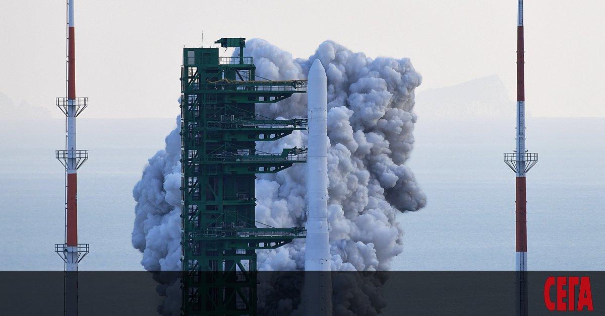 Южна Корея тества първата космическа ракета, произведена в страната. Въпреки