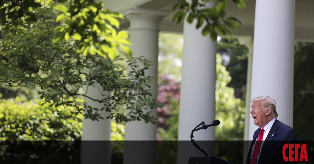 Президентът на САЩ Доналд Тръмп се закани да закрие социалните